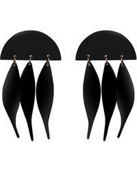 Lele Sadoughi - Dangling Ivy 14k Plated Earrings - Lyst