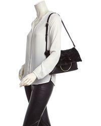 Sondra Roberts - Leather Foldover Clutch - Lyst