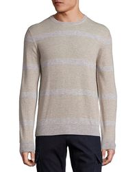 Saks Fifth Avenue - Cashmere Colorblocked Sweater - Lyst