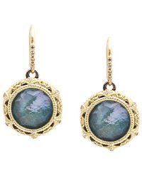 Armenta - Old World 18k & Silver 9.66 Ct. Tw. Diamond & Gemstone Drop Earrings - Lyst
