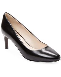 Cole Haan - Leather Pump - Lyst