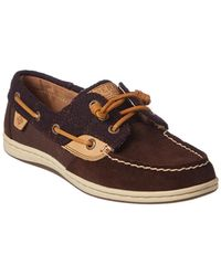 Sperry Top-Sider - Women's Songfish Suede Boat Shoe - Lyst