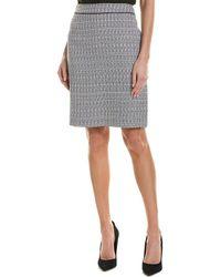 Tahari - Tahari Asl Suit Skirt - Lyst