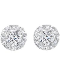 Diana M. Jewels - Bridal Collection 14k 1.46 Ct. Tw. Diamond Studs - Lyst