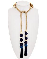 Trina Turk - Mojito Nights Lariat Necklace - Lyst