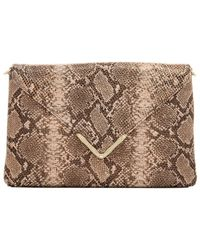 Elaine Turner - Leather Clutch - Lyst