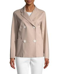 Piazza Sempione - Double-breasted Jacket - Lyst