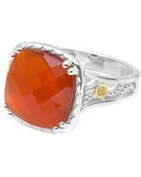 Tacori - Scarlett 18k & Silver 6.10 Ct. Onyx Doublet Ring - Lyst