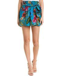 Parker - Bridgette Silk-blend Skirt - Lyst