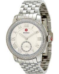 Michele - Women's New Harbor Diamond Watch - Lyst