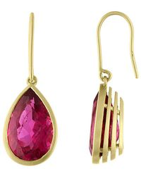 Tate - 18k 8.63 Ct. Tw. Rubellite Earrings - Lyst