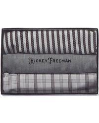 Hickey Freeman - Set Of 3 Pocket Squares - Lyst