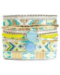 Hipanema - Summer Crystal Bracelet - Lyst