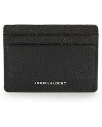 Hook + Albert - Leather Card Case - Lyst