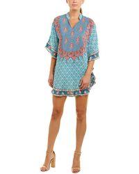Tolani - Belle Tunic Dress (turquoise) Women's Dress - Lyst