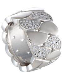 Cartier - Cartier 18k White Gold 1.50 Ct. Tw. Diamond Ring - Lyst