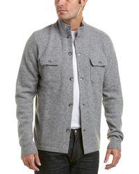 Michael Bastian - Grey Label Wool-blend Mock Neck Jumper - Lyst