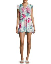 6 Shore Road By Pooja - Georgica Floral Printed Dress - Lyst