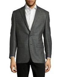 Ralph Lauren - Windowpane Wool-blend Jacket - Lyst