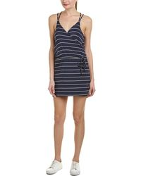 Chaser - Crossover Mini Dress - Lyst