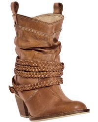 Dan Post - Dingo Twisted Sister Western Leather Boot - Lyst