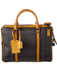 Burberry - Smoked Check Newburg Small Briefcase - Lyst