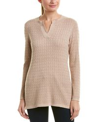 Sail To Sable - Cable-knit Sweater - Lyst