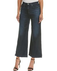 AG Jeans - Yvette 7 Years United High-rise Wide Ankle Cut - Lyst