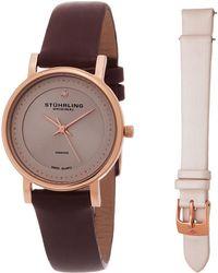 Stuhrling Original - Stuhrling Women's Symphony Diamond Watch With Interchangeable Strap - Lyst