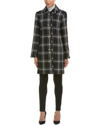 Sail To Sable - Wool-blend Coat - Lyst