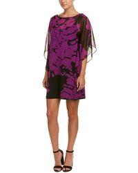 Trina Turk - Anissa Silk Shift Dress - Lyst