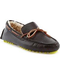 Cole Haan - Air Grant Leather Driver - Lyst