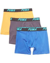 PUMA - Solid Volume Boxer Brief (3pk) - Lyst