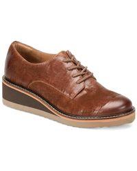 Söfft - Salerno Leather Wedge Oxford - Lyst