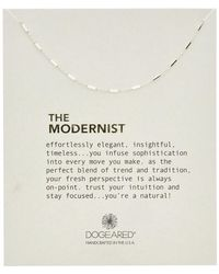Dogeared - Wish Beaded Necklace - Lyst