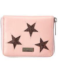 Stella McCartney - Star Embellished Compact Wallet - Lyst