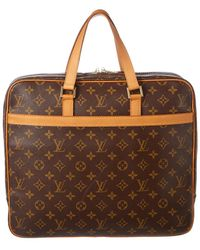 Louis Vuitton - Monogram Canvas Porte-documents Pegase Briefcase - Lyst