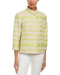 Lafayette 148 New York - Vanna Linen-blend Jacket - Lyst