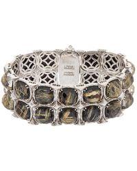 Tacori - Classic Rock 18k & Silver 119.86 Ct. Tw. Gemstone Doublet Bracelet - Lyst