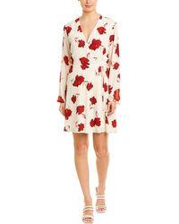 Lush - Floral Wrap Dress - Lyst