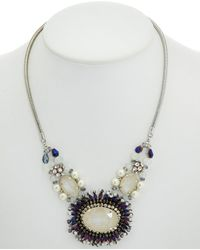 Nakamol - Plated Crystal Necklace - Lyst