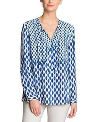 NIC+ZOE - Printed Woven Top - Lyst