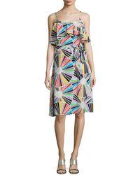 Trina Turk - Isabel Silk Popover Dress - Lyst