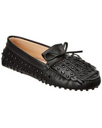 Tod's - Gommino Leather Driving Shoe - Lyst