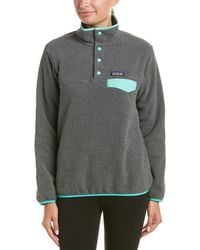 Patagonia - ® Lightweight Synchilla Snap-t Pullover - Lyst