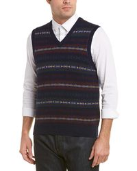 Brooks Brothers - Wool-blend Vest - Lyst