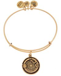 ALEX AND ANI - Path Of Symbols Ouroboros Expandable Bangle - Lyst