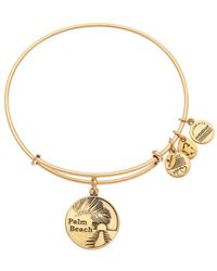 ALEX AND ANI - Places We Love Palm Beach Expandable Bracelet - Lyst