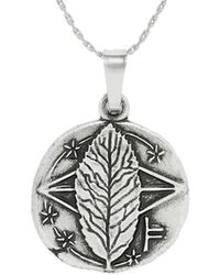 ALEX AND ANI - The Secret Language Of Trees Rowan Expandable Necklace - Lyst