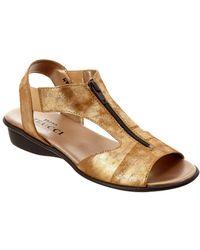 Sesto Meucci - Women's Euclid Leather Sandal - Lyst
